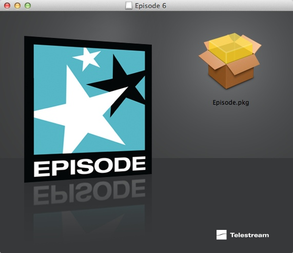 Episode Package Installer Screen shot