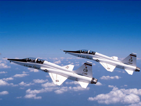 T-38A Talons from Columbus Air Force Base